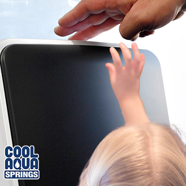 Our touchless water cooler and dispenser has the benefit of being out-of-reach from children - a great feature