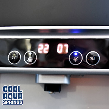 Our touchless water cooler and dispenser has the benefit of being able to set your temperatures to prevent scalding - a great feature